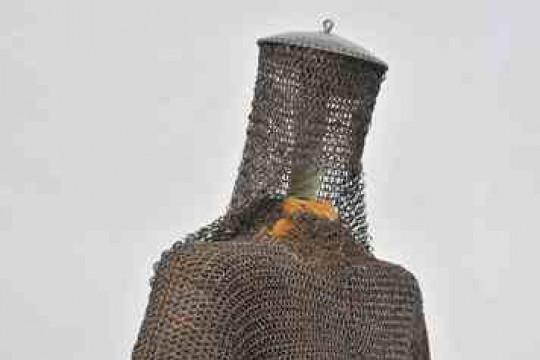 Zbroja kolczo-płytowa, Indie, XVII w., nr inw. Wil.5071, fot. Z. Reszka.jpg