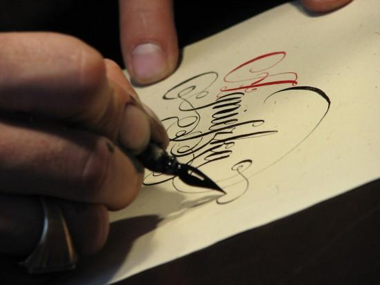 Kaligrafia, fot. M. Nawrocka-Teodorczyk.JPG