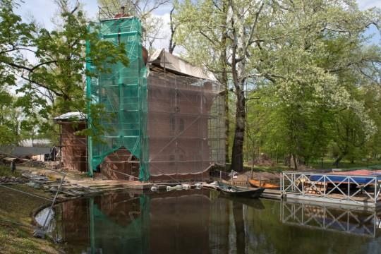 Prace konserwatorskie i remontowe w budynku Pompowni, fot. W. Holnicki.jpg