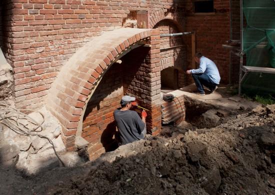 Prace remontowe w budynku Pompowni, fot. W. Holnicki.jpg