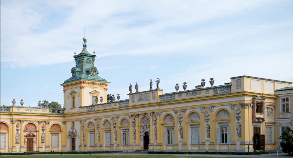 Skrzydło południowe pałacu wilanowskiego