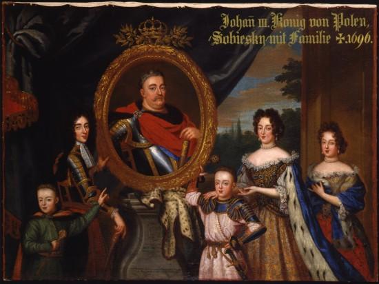 H. Gascar, Portret Jana III z rodziną, 2. poł. XVII w., Residenz München.jpg