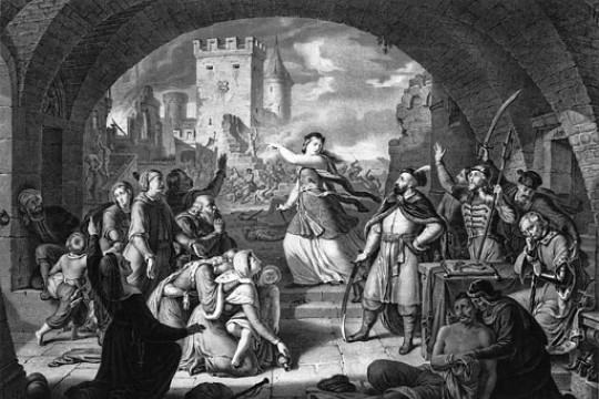 Trembowla – 1675 - chwała komendanta i jego żony