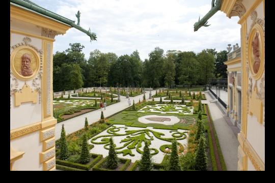 Ogród barokowy na tarasie górnym, fot. W. Holnicki