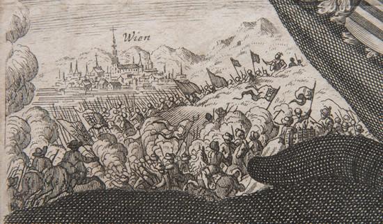 Arcyksiążę Johann Georg von Sachsen - portret na tle Bitwy pod Wiedniem w 1683 r_bitwa.jpg