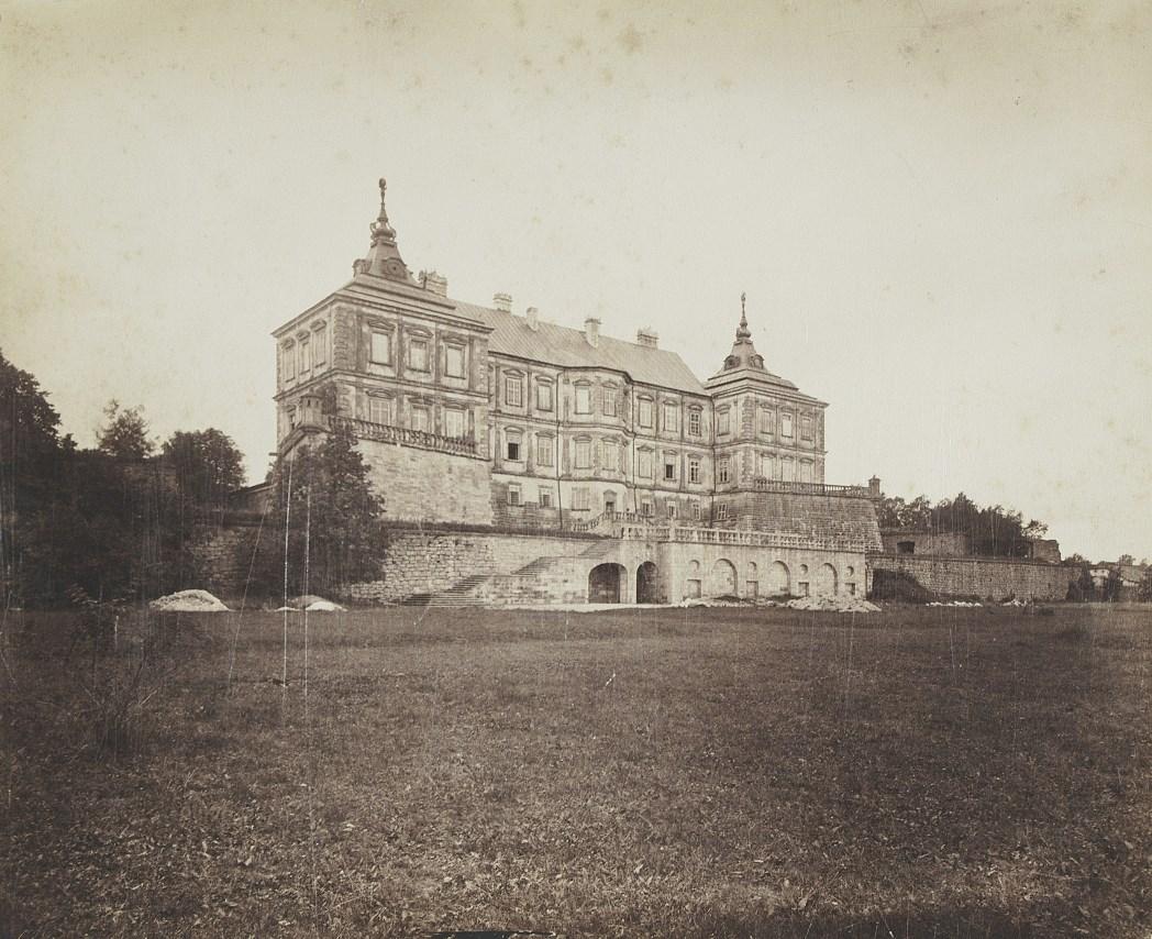 E. Trzemeski, Zamek w Podhorcach, fot. ok. 1880, BN.jpg