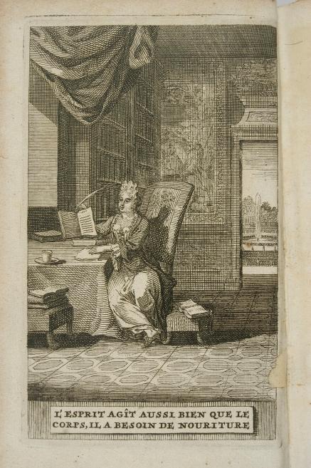 44_dama piszaca list we wnetrzu biblioteki_anonimowa akwaforta holenderska 1718.jpg