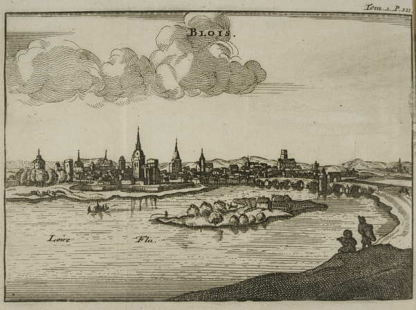 44_widok zamku w blois_anonimowa akwaforta holenderska 1699.jpg