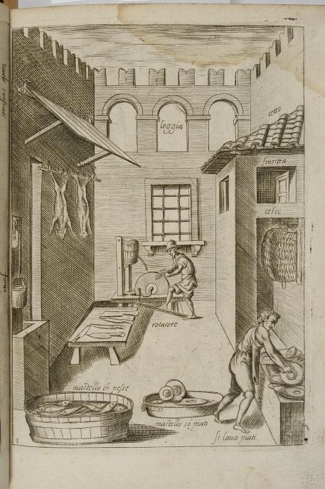 44_wnetrze kuchni z dwoma kuchcikami_anonimowy miedzioryt wenecki 1643.jpg