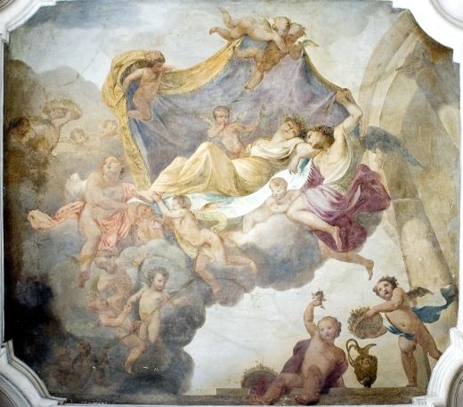 57_michał anioł palloni, uśpiona psyche, freski w galerii południowej pałacu wilanowskiego.jpg