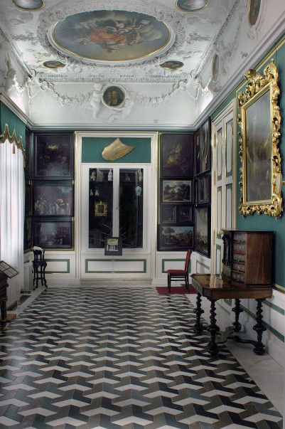 57_wnetrze biblioteki królewskiej w pałacu wilanowskim.jpg