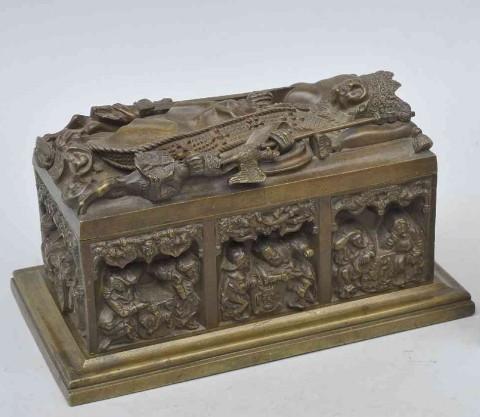 Miniatura Sarkofagu Kazimierza Jagiellończyka
