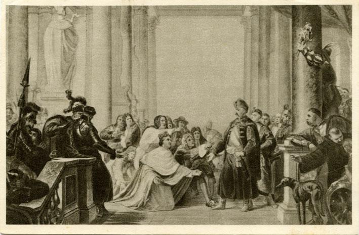 57_ikon-0505-nuncjusz pallavicino i poseł austrjacki hr. waldstein [proszą] jana iii o ratowanie wiednia i chrześcijaństwa.jpg
