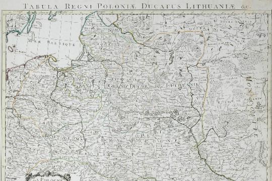 Francuzi w Polsce  w drugiej połowie XVIII wieku