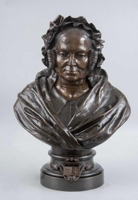 Popiersie Katarzyny z Branickich Potockiej (1825-1907)
