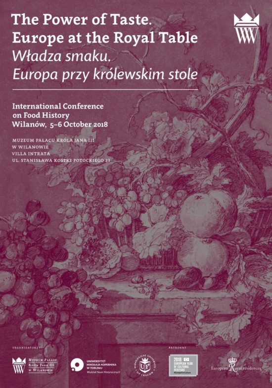 18 Conference The Power of Taste. Europe at the Royal Table, poster.jpg