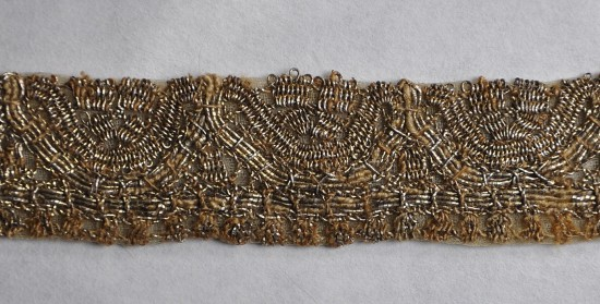 Fragment koronki po konserwacji, fot. B. Kalfas.