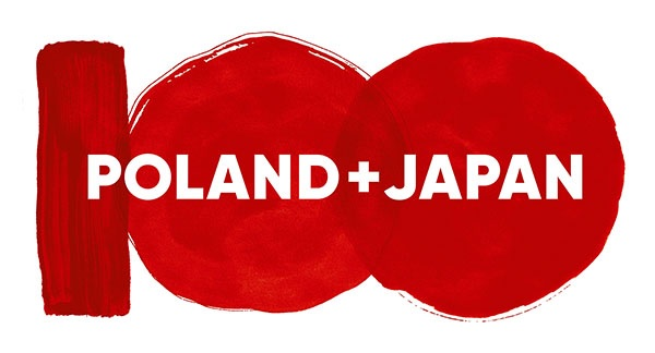 Logo of the the 100th anniversary of Polish-Japanese diplomatic relations