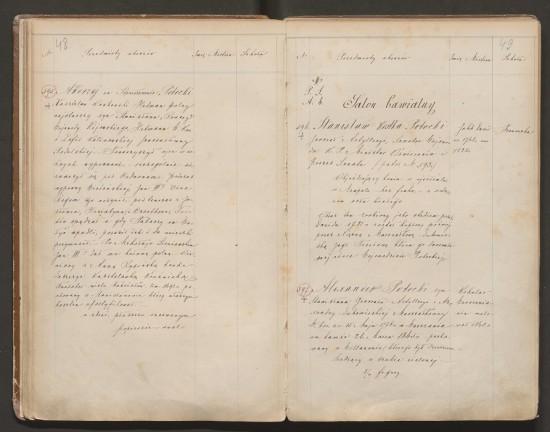 Il. 7. Karta spisu obrazów Galerii Wilanowskiej z 1877 r., AGAD, AGWil., ZPMiPW, sygn. 184, s. 49.