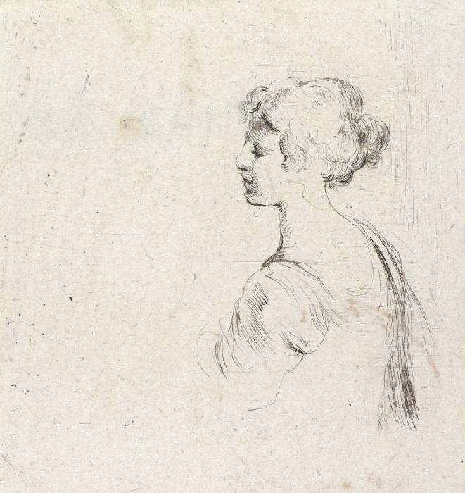 Studium portretowe kobiety