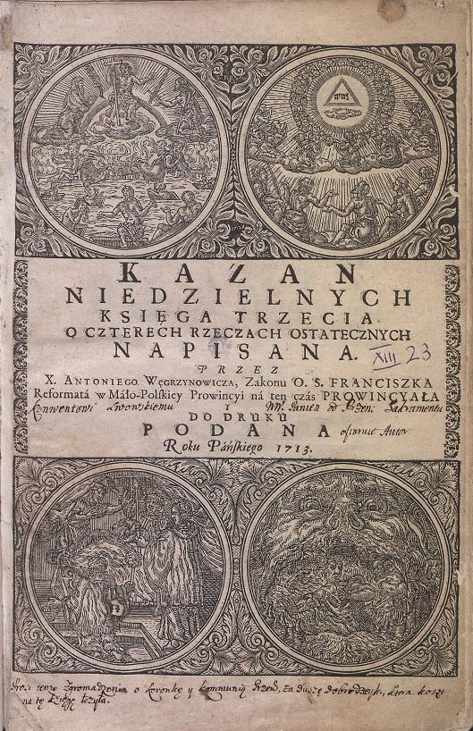 Strona tytułowa z dzieła