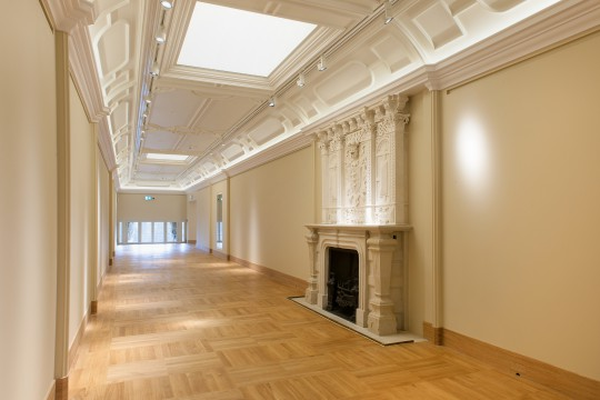 Zmodernizowana galeria na piętrze pałacu, fot. Zbigniew Reszka, Muzeum Pałacu Króla Jana III w Wilanowie.jpg