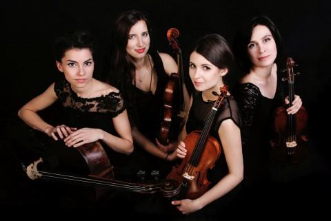 Quartetto Nero, kwartet smyczkowy, koncert kameralny.jpg