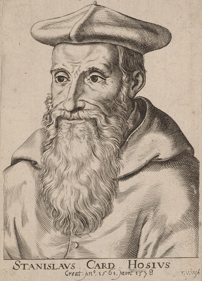 Stanisław Hozjusz (1504 Kraków - 1579 Capranica) - kardynał, humanista, poeta, jeden z czołowych przywódców polskiej i europejskiej kontrreformacji.jpg