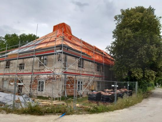 Remont dachu dawnej Słodowni K. Pyzel.jpg