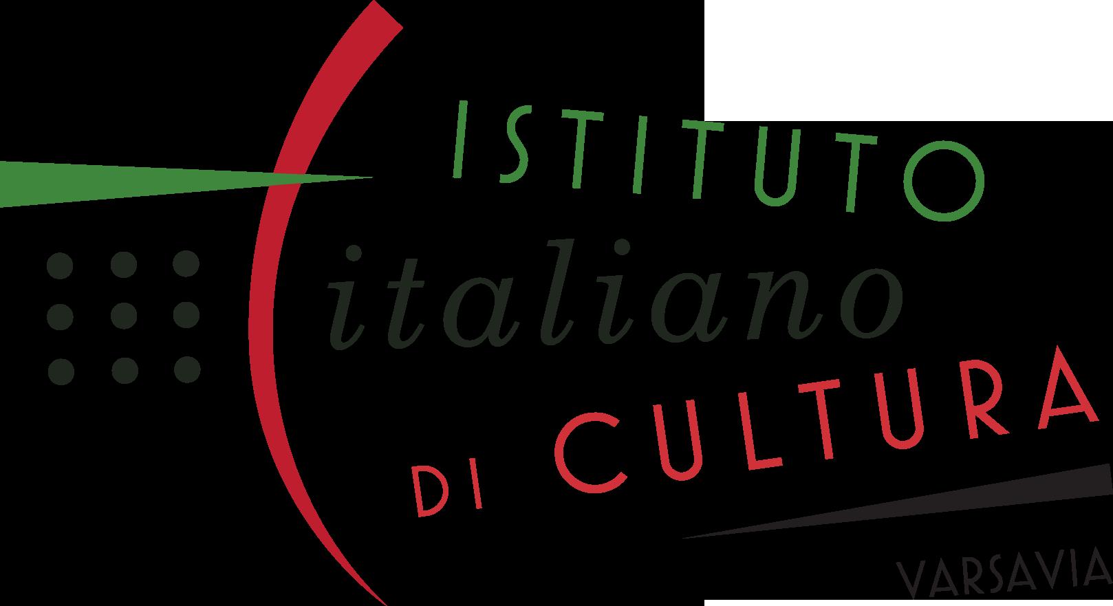 Logo Włoskiego Instytutu Kultury w Warszawie