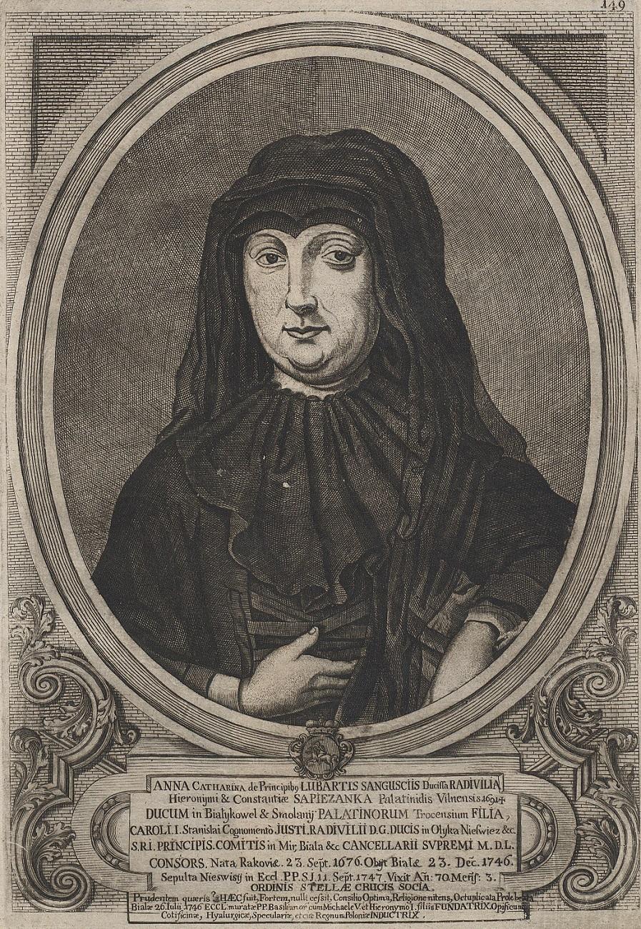 Anna Katarzyna z Sanguszków Radziwiłłowa