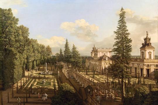 Ogród pałacowy w Wilanowie w XVII i XVIII w.
