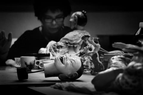 Lublin Konserwatorzy przy pracy nad obiektami wytypowanymi do digitalizacji w Muzeum Lubelskim w Lublinie, fot. Dorota Awiorko WWW.jpg