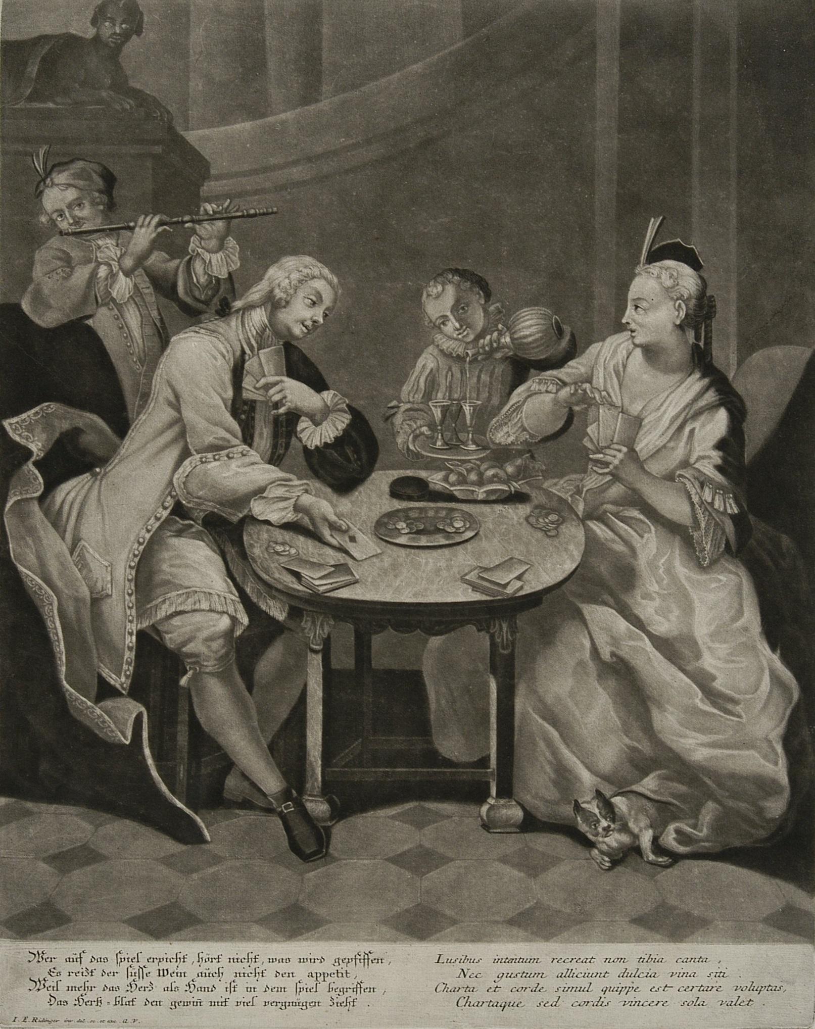 Towarzystwo grające w karty