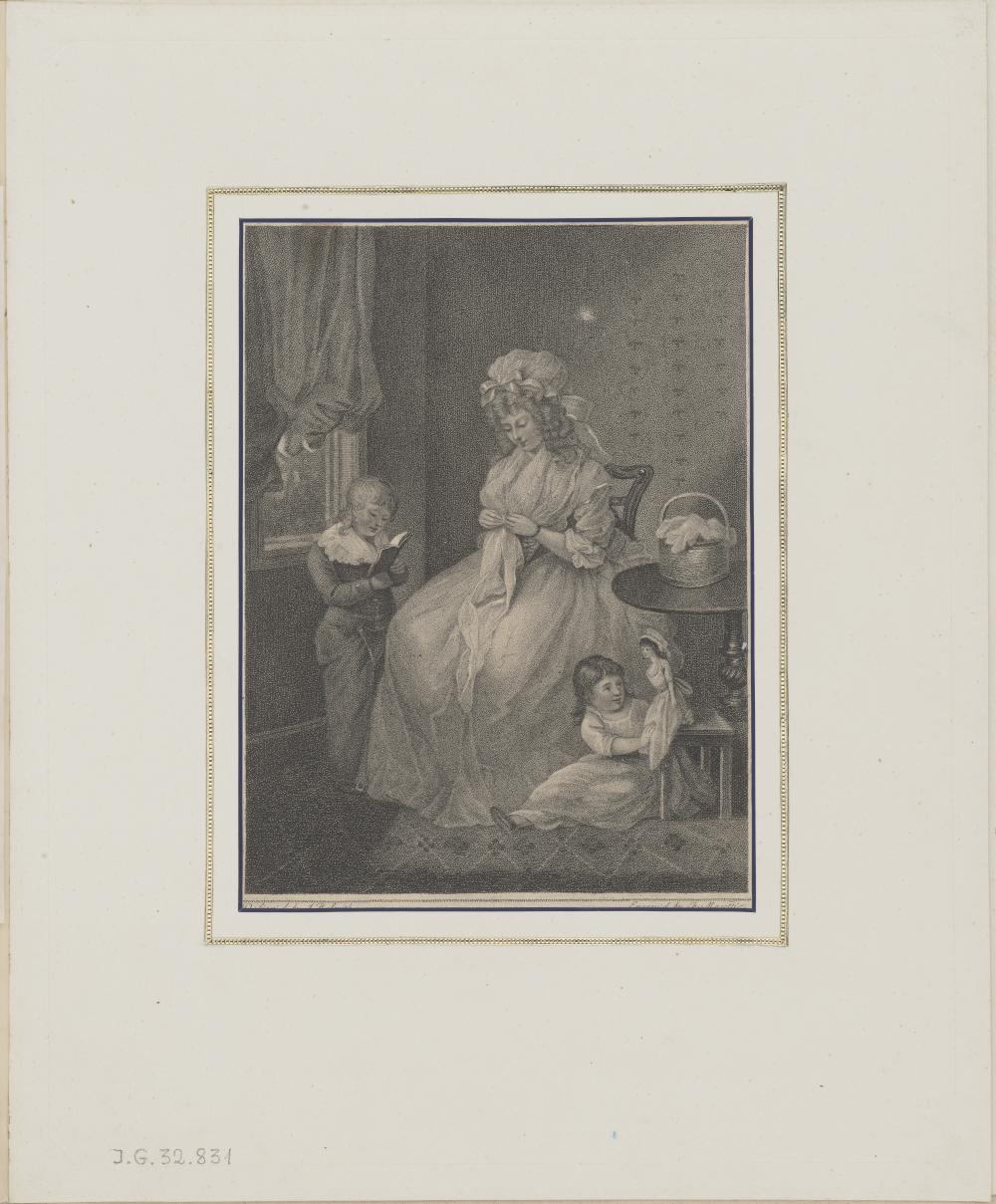 Kobieta z dwójką dzieci