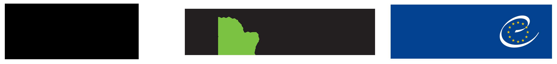 Logotypy Uffizi i Historic Route of European Gardens