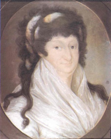 Maria Wiktoria Morykoni, z domu Radziwiłł, mal. Józef Mateusz Pigulski, ok. 1790, Muzeum Narodowe w Warszawie