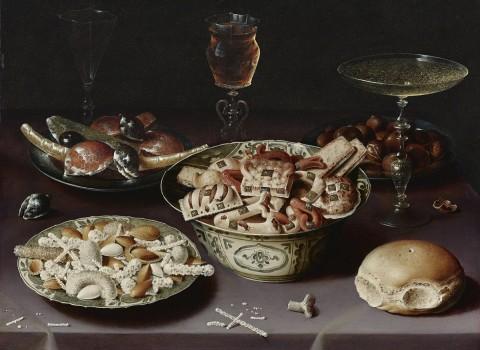 Marcepan dobry na wszystko, Osias_Beert, Still life of porcelain vessels containing sweets.jpg