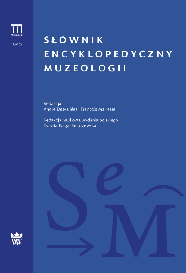 Okładka Słownika encyklopedycznego muzeologii