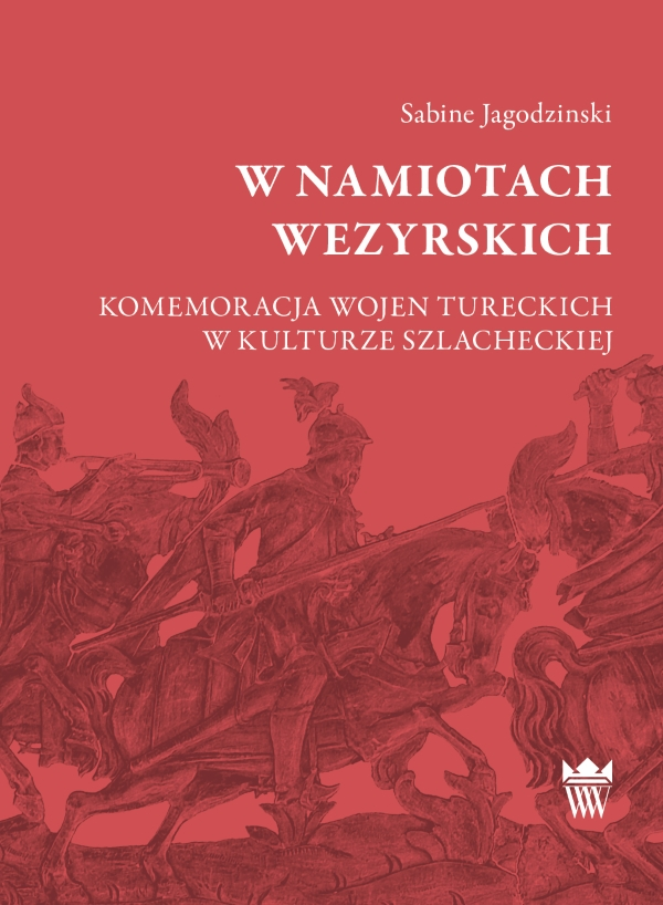 """Okładka książki Sabine Jagodzinski """"W namiotach wezyrskich"""""""
