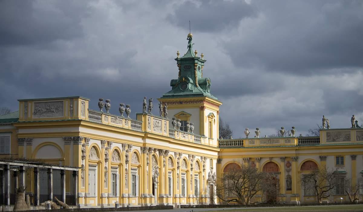 Skrzydło północne pałacu wilanowskiego