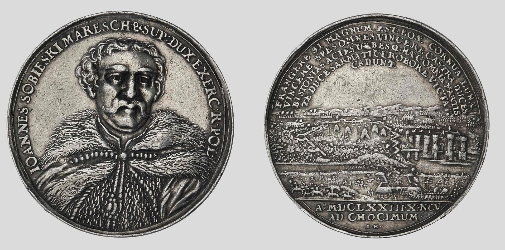Medal z okazji bitwy pod Chocimiem