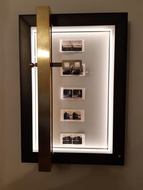 Gablota na pocztówki stereoskopowe