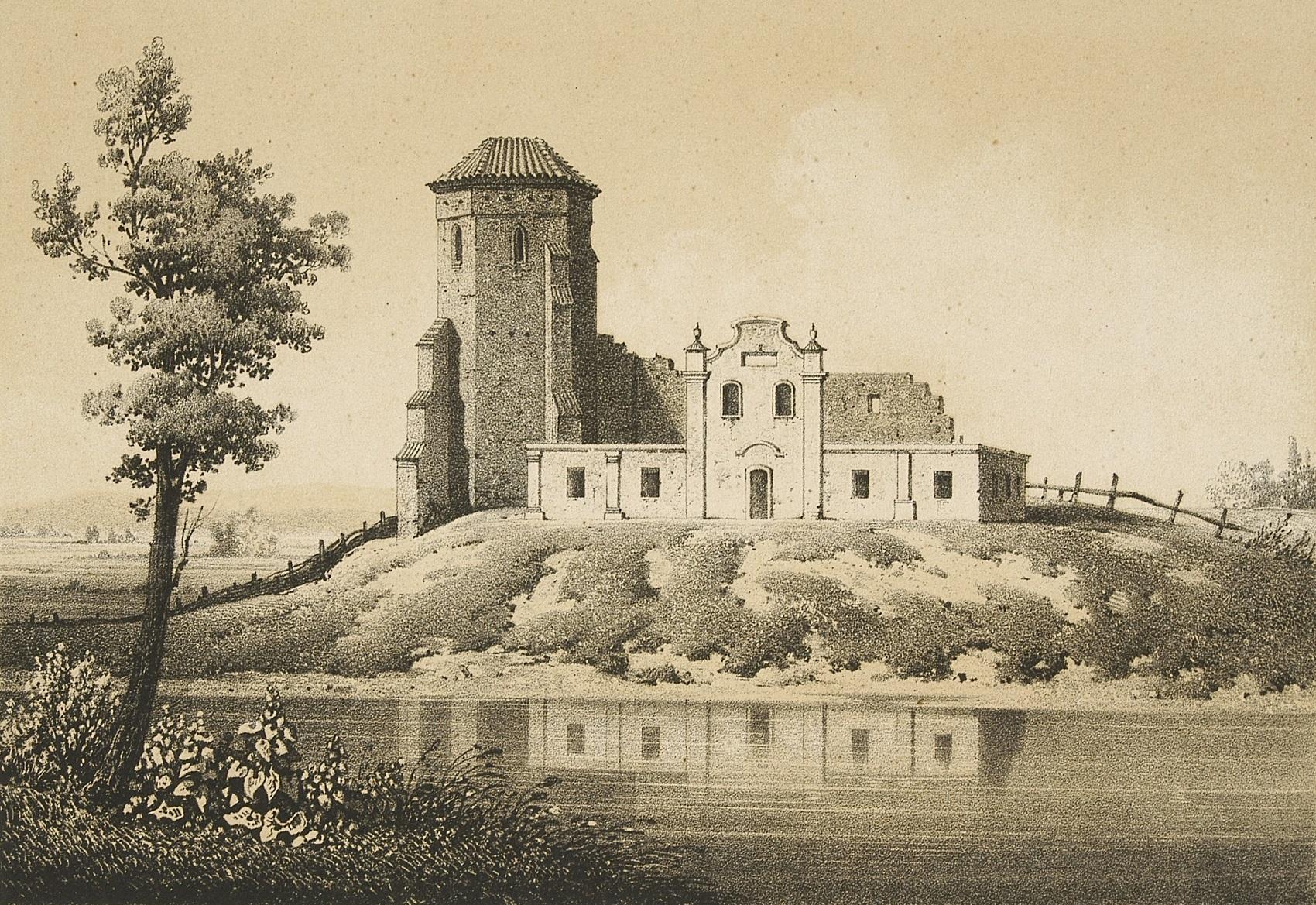 Ruiny Zamku w Liwie