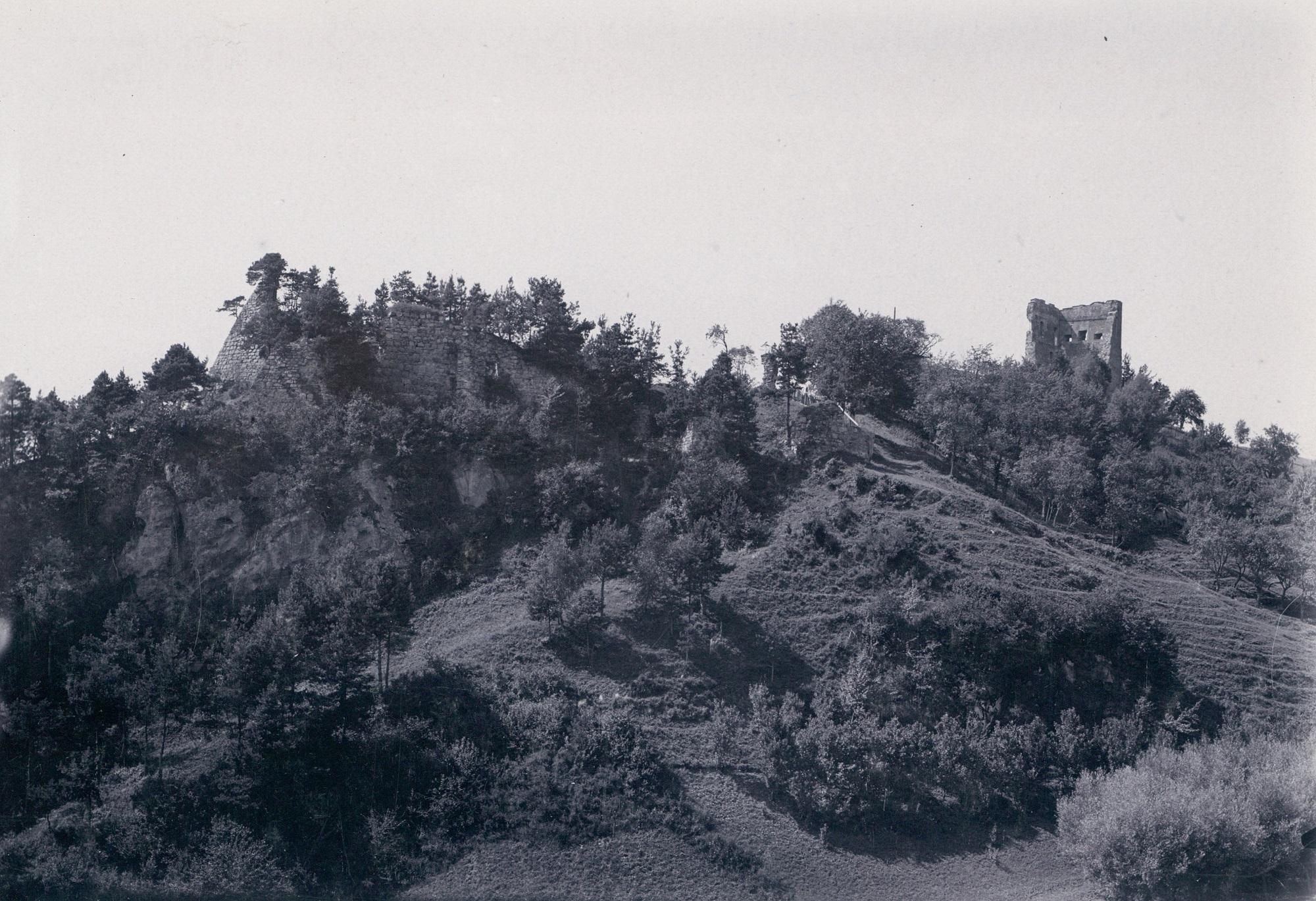 Ruiny zamku w Melsztynie