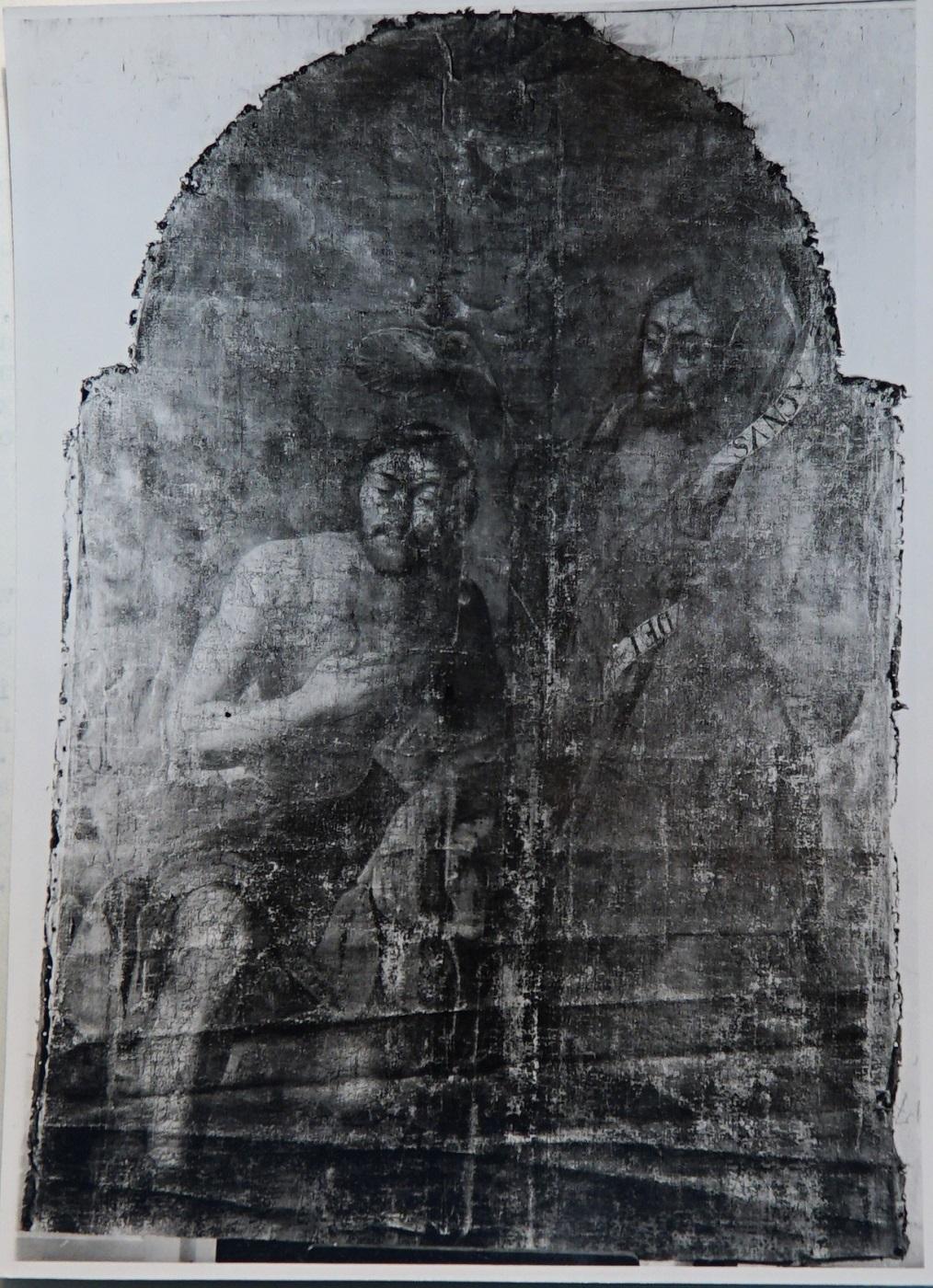 Chrzest Chrystusa z kościoła w Bychawie
