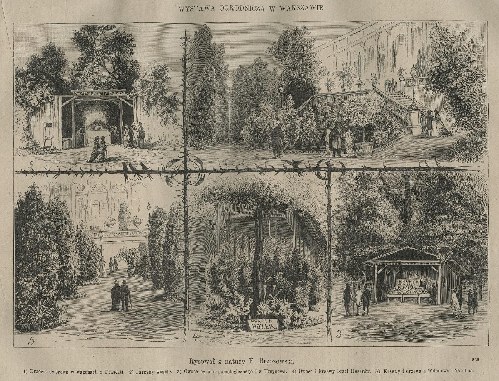 Wystawa ogrodnicza w Warszawie