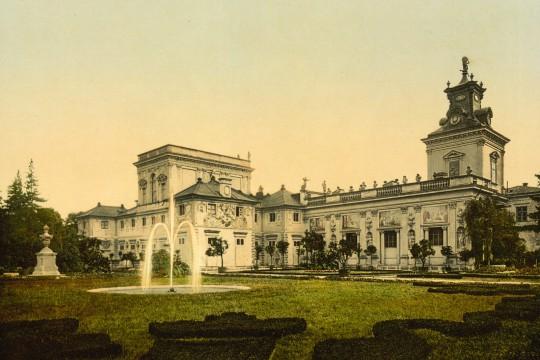 Wilanowska kolekcja cytrusów od końca XIX wieku do 1945 roku