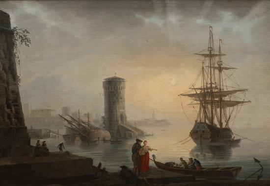 Port. Adrien Manglard, 1 poł. XVIII wieku..jpg
