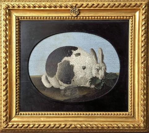 Królik mozaika, 1790, kamień.jpg